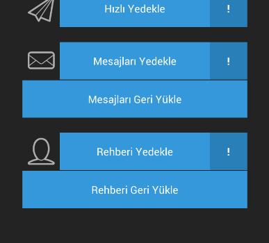 Sms & Contacts Backup Ekran Görüntüleri - 2
