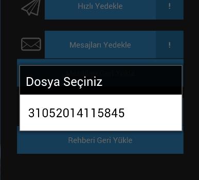 Sms & Contacts Backup Ekran Görüntüleri - 1