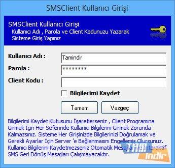 SMSClient Ekran Görüntüleri - 7