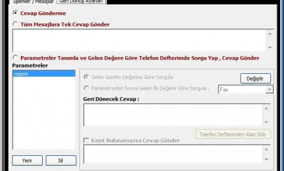 SMSClient Ekran Görüntüleri - 1
