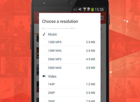 SnapTube Ekran Görüntüleri - 1