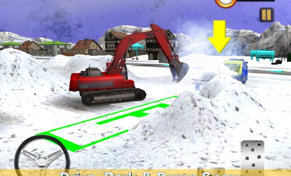 Snow Rescue Excavator Sim Ekran Görüntüleri - 1