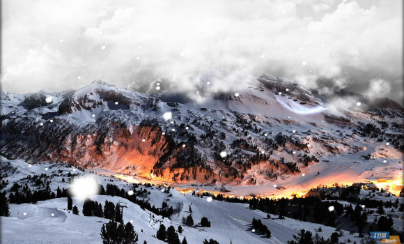 Snowfall Live Wallpaper Ekran Görüntüleri - 3