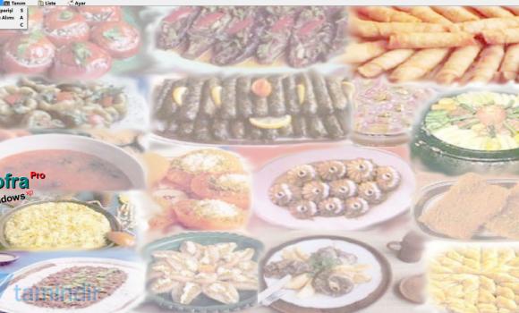 Sofra Pro Gıda Yemek Tarif Takip Programı Ekran Görüntüleri - 1