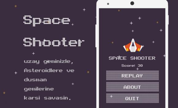 Space Shooter Game Ekran Görüntüleri - 5