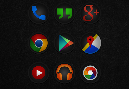 Stealth - Icon Pack Ekran Görüntüleri - 2