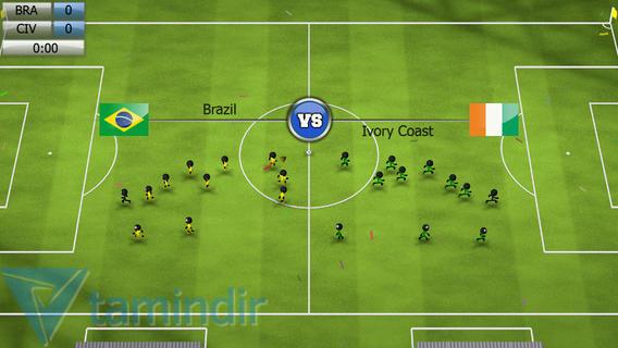 Stickman Soccer 2014 Ekran Görüntüleri - 3