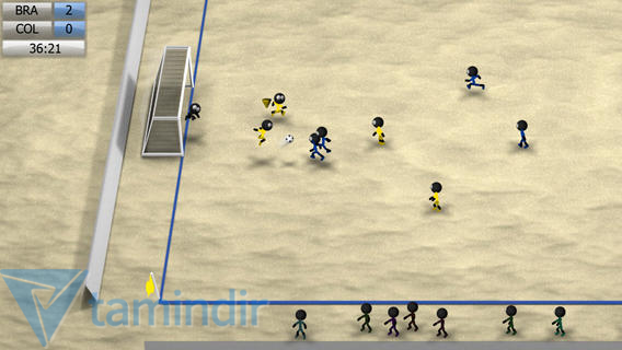 Stickman Soccer 2014 Ekran Görüntüleri - 1