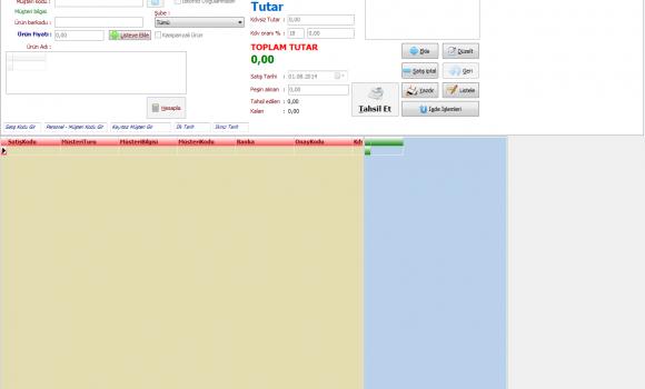 Stok Takip ve Satış İşlemleri Programı Ekran Görüntüleri - 2