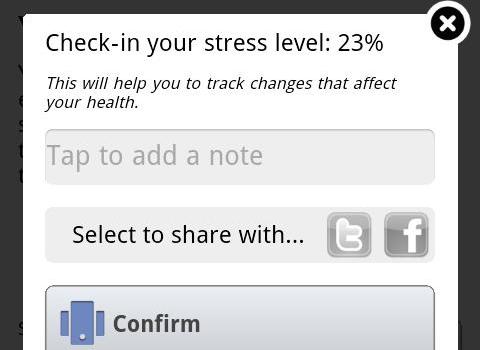 Stress Check Ekran Görüntüleri - 2