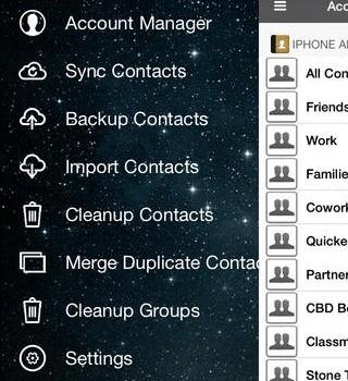 Sync & Backup & Clean Contacts Ekran Görüntüleri - 4