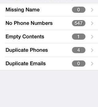 Sync & Backup & Clean Contacts Ekran Görüntüleri - 1