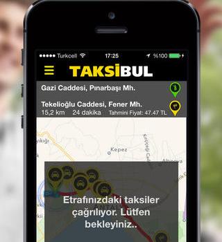 TaksiBul Ekran Görüntüleri - 3