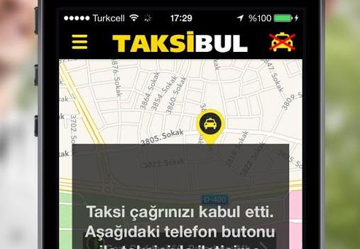 TaksiBul Ekran Görüntüleri - 2
