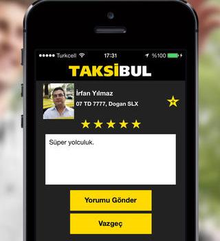 TaksiBul Ekran Görüntüleri - 1