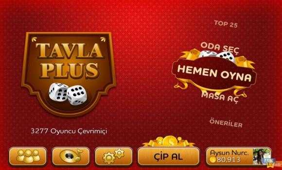 Tavla Plus Ekran Görüntüleri - 1