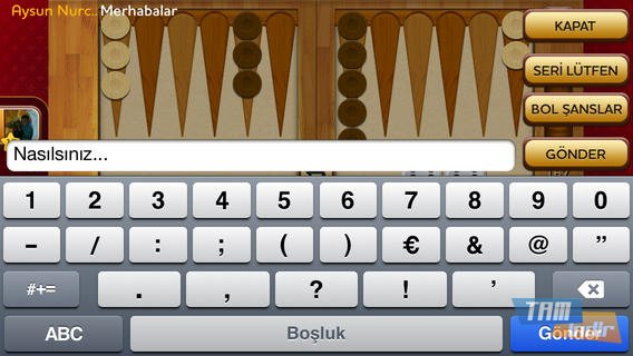 Tavla Plus! Ekran Görüntüleri - 1