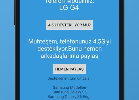Telefonum 4,5G destekliyor mu? Ekran Görüntüleri - 3