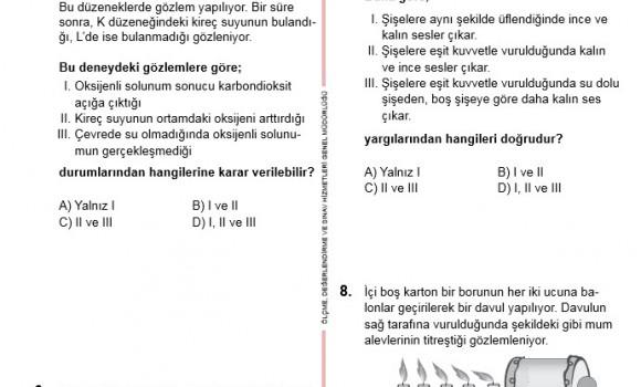 TEOG 2. Dönem Soru ve Cevapları Ekran Görüntüleri - 1