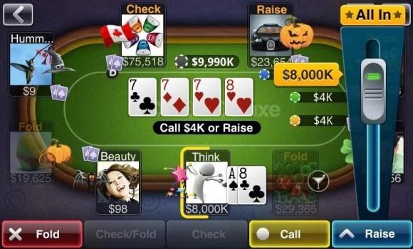 Texas HoldEm Poker Deluxe Pro Ekran Görüntüleri - 4