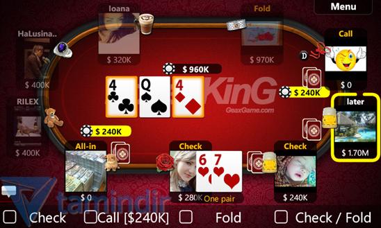 Texas Holdem Poker Ekran Görüntüleri - 5
