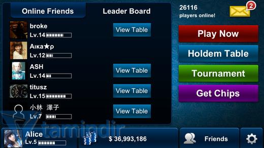 Texas Holdem Poker Ekran Görüntüleri - 3
