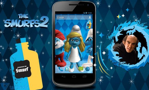 The Smurfs 2 3D Live Wallpaper Ekran Görüntüleri - 3