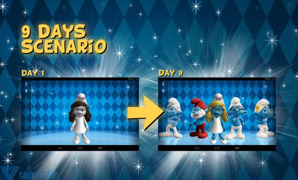 The Smurfs 2 3D Live Wallpaper Ekran Görüntüleri - 2