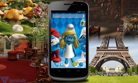 The Smurfs 2 3D Live Wallpaper Ekran Görüntüleri - 1