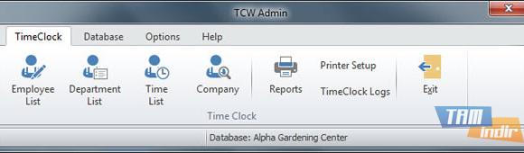 TimeClockWindow Ekran Görüntüleri - 1