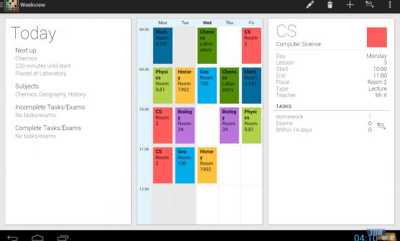 Timetable Ekran Görüntüleri - 1
