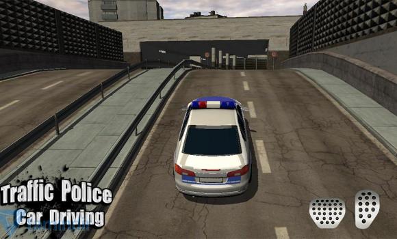 Traffic Police Car Driving 3D Ekran Görüntüleri - 1