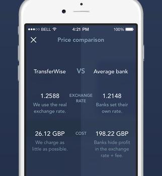 TransferWise Ekran Görüntüleri - 3