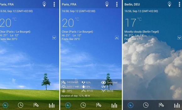 Transparent Clock & Weather Ekran Görüntüleri - 3