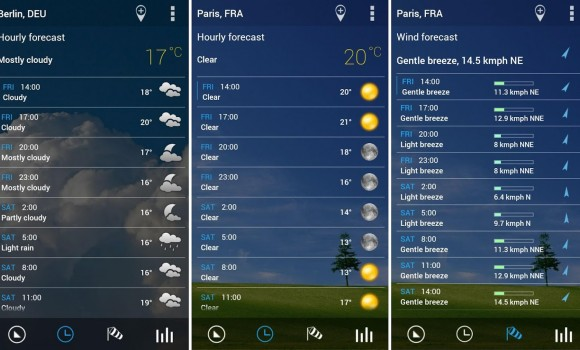Transparent Clock & Weather Ekran Görüntüleri - 2