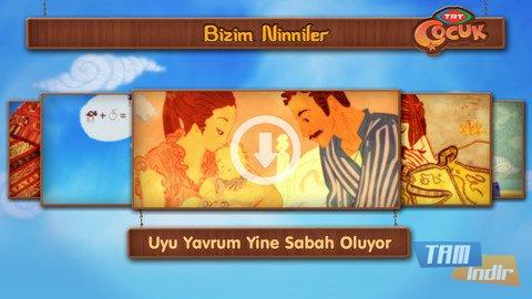 TRT Çocuk Bizim Ninniler Ekran Görüntüleri - 2