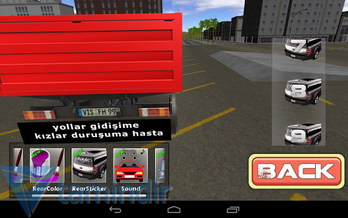Truck Modified 3D Ekran Görüntüleri - 3