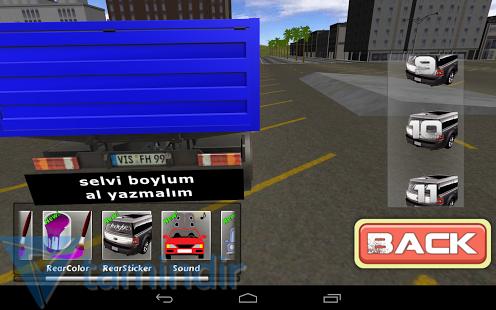 Truck Modified 3D Ekran Görüntüleri - 1