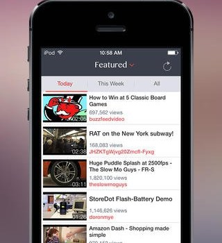 TubePlayer Free Ekran Görüntüleri - 4