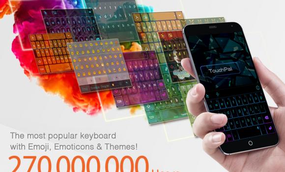 Turkish for TouchPal Keyboard Ekran Görüntüleri - 1