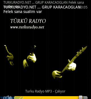 Türkü Radyo Ekran Görüntüleri - 4