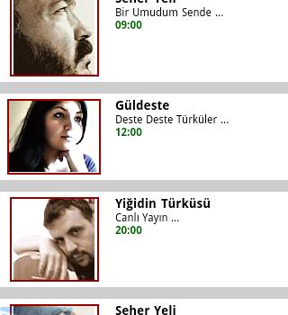 Türkü Radyo Ekran Görüntüleri - 2