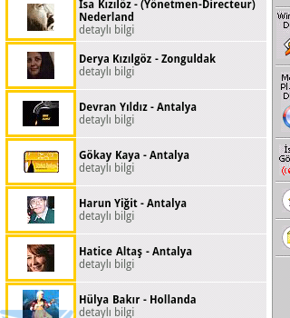 Türkü Radyo Ekran Görüntüleri - 1