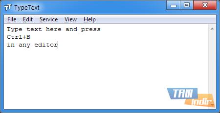 TypeText Ekran Görüntüleri - 2