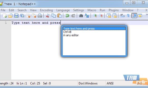 TypeText Ekran Görüntüleri - 1