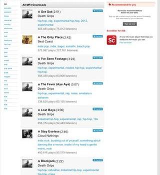 Ultra Free Music Downloader Ekran Görüntüleri - 1