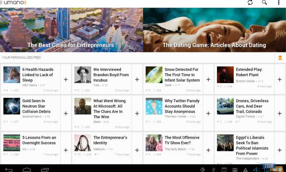 Umano: Listen to News Articles Ekran Görüntüleri - 5