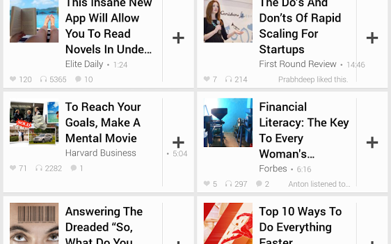 Umano: Listen to News Articles Ekran Görüntüleri - 4