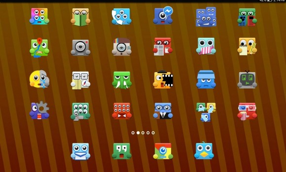 Upbeat Monsters Icon Pack Ekran Görüntüleri - 4