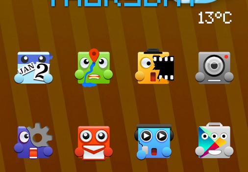 Upbeat Monsters Icon Pack Ekran Görüntüleri - 3